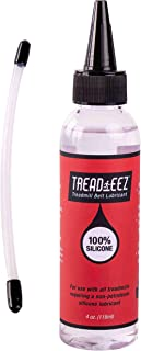 GSM Brands Treadmill Belt Lubricant - 100% Silicone Acrylic Pouring Oil - Elliptical Exercise Machine Lube (4 oz Size)