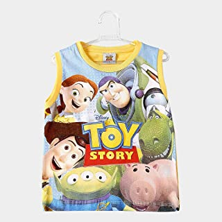 Regata Infantil Fakini Estampa Toy Story Masculina
