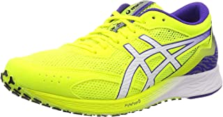 ASICS Men's Safety Yellow/Royal Azel Running Shoes-8 UK (42.5 EU) (9 US) (1011A544)