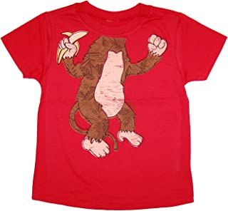 Peek-A-Zoo Become a Land Animal or Character Super Soft Short Sleeve Tee for Baby, Infant + Toddler (0/6M-6T)