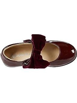 Girls Burgundy Shoes + FREE SHIPPING