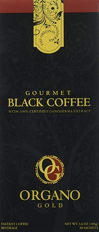 2 Box Organo Gold Gourmet Black Coffee Organic 100 Certified 105g 30 Bags 3 5g