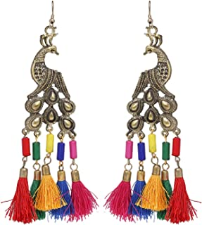 Best silk thread earrings price in india Reviews