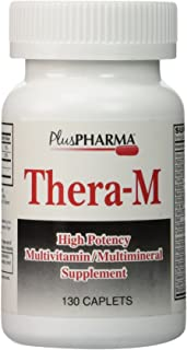Plus Pharma Thera-M Multivitamin Multimineral Supplement 130 Caplets