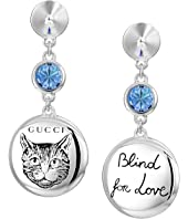 Gucci - Blind for Love Gato Earrings