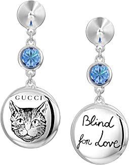 Blind for Love Gato Earrings