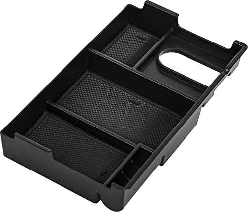 2021 OxGord wholesale Console Organizer Tray Insert Armrest Glove Box lowest Secondary Storage Console Best for 2014-2018 Toyota Tundra online