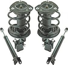 Front Complete Quick Loaded Strut Spring Rear Shock Absorber Kit Set 4pc