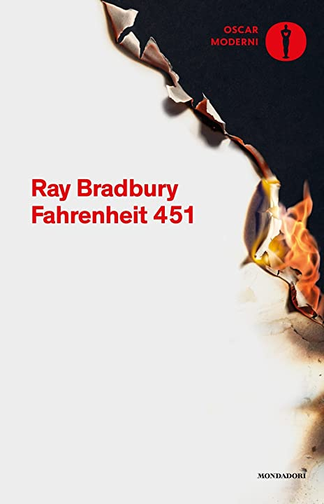 Fahrenheit 451 (italiano) copertina flessibile mondadori 978-8804665298