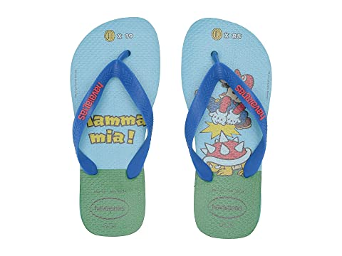 558528a82ccecd Havaianas Kids Mario Bros Flip-Flop (Toddler Little Kid Big Kid) at ...