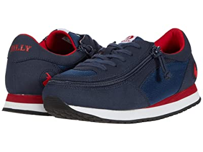 BILLY Footwear Kids Billy Jogger (Little Kid/Big Kid) (Navy/Red) Boy