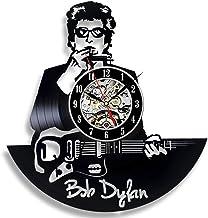 Bob Dylan singer art wall clock vinyl - get unique hanging home decoration