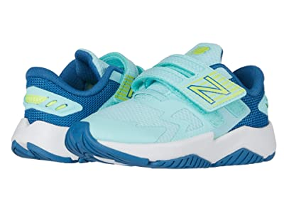 New Balance Kids Rave Run v1 (Infant/Toddler) (Bali Blue/Mako Blue) Girls Shoes