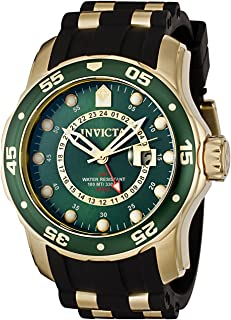 Men's Pro Diver Collection GMT 18k Gold-Plated Stainless...