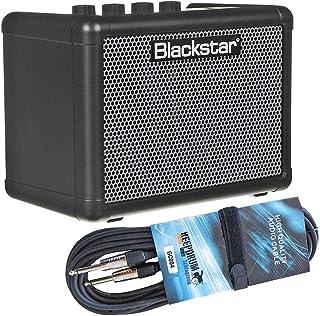 Blackstar Fly 3 Bass - Miniamplificador de graves y cable jack keepdrum (3 m)