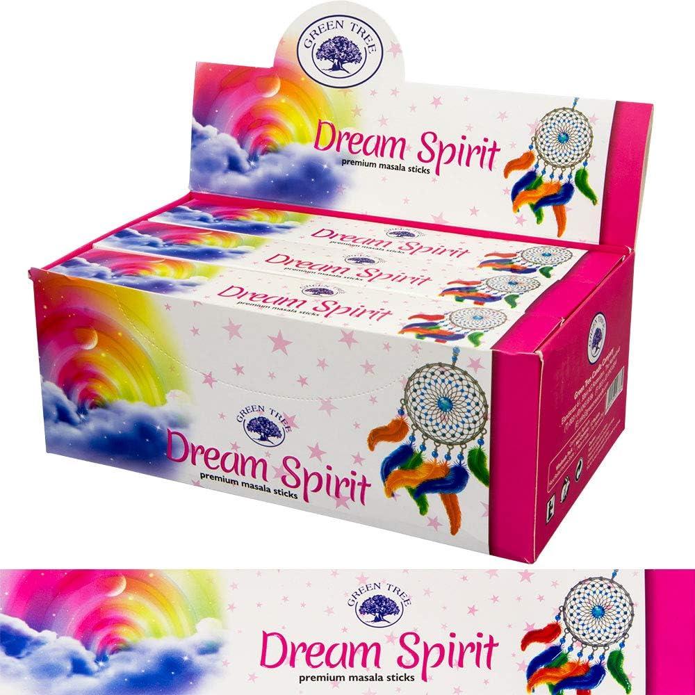 Green Tree Dream Spirit 新作 新発売 Incense - Retail 144 Sticks Box
