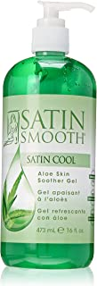 SATIN SMOOTH Satin Cool Aloe Vera Skin Soother 16 oz