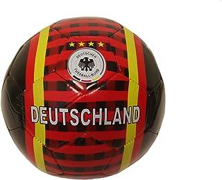 SUPERDAVES SUPERSTORE Deutschland Germany Black Deutscher Fussball - Bund Logo Soccer Ball Size 5. New