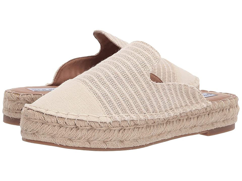 Steve Madden Breezy (Natural Fabric) Women's Shoes, Neutral