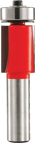 """popular Freud 3/4"""" (Dia.) high quality Downshear Helix Flush Trim Bit popular with 1/2"""" Shank (42-202) sale"""