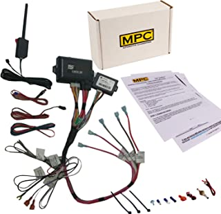 MPC Complete Remote Start Kit and Keyless Entry for 2002-2008 GMC Envoy - Prewired to Simplify...