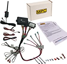 MPC 2 Way LCD Remote Start Kit with Keyless Entry for 2003-2006 Chevrolet Avalanche 2500 - Prewired - Firmware Preloaded