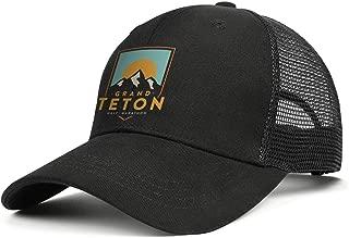 Unisex Low Baseball Cap Washed Grand Teton National Park Cattle Beach Dad Hat