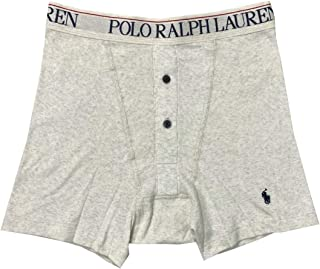 Polo Ralph Lauren Men's Button Fly Ribbed Knit Boxer Brief