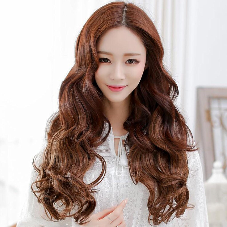Longless Perücke Haar Stück fünf clip Haar langes lockiges Haar ist nicht reflektierend Haar