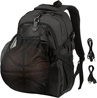 VBG VBIGER School Backpack Sports Basketball Backpack 15.6 Laptop Backpack for High Middle School Boys Mens