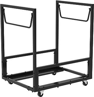 Lifetime 80279 Rolling Essential Chair Cart, Black