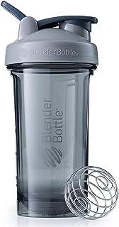 BlenderBottle Pro24 Shaker, 24oz, Pebble Grey (Int'l),24-Ounce,C03106,C03103