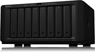 "Synology DiskStation 8-Bay 3.5"" Diskless 4xGbE NAS, Black, DS1819+"