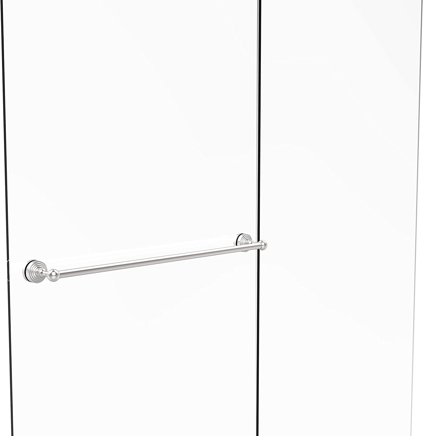 Allied Brass WP-41-SM-30-SCH Waverly Place Collection 30  Shower Door Towel bar,