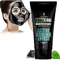 UrbanGabru Charcoal Peel Off Mask remove blackheads & whiteheads | deep skin purifying cleansing (120 gm)