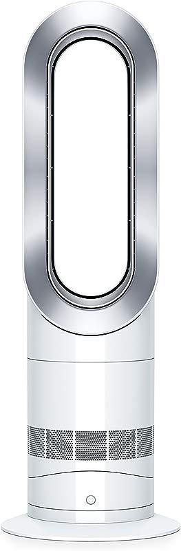 Dyson Hot Cool Jet Focus AM09 Fan Heater White Silver Renewed