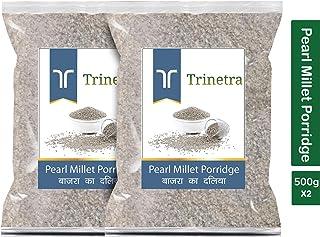 Trinetra Bajra Daliya (Pearl Millet Porridge)-500gm (Pack of 2)