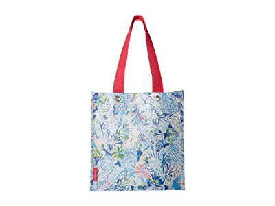 Lilly Pulitzer Market Shopper (Lion Around) Tote Handbags