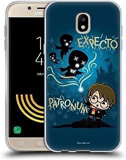 Officiel Harry Potter Licorne Deathly Hallows II Coque en Gel molle pour Samsung Galaxy J5 (2017)