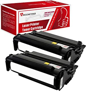 Awesometoner Compatible 2 Pack Dell S2500 Toner Unit For Dell 2500 , S2500 High Yield 10,000 Pages
