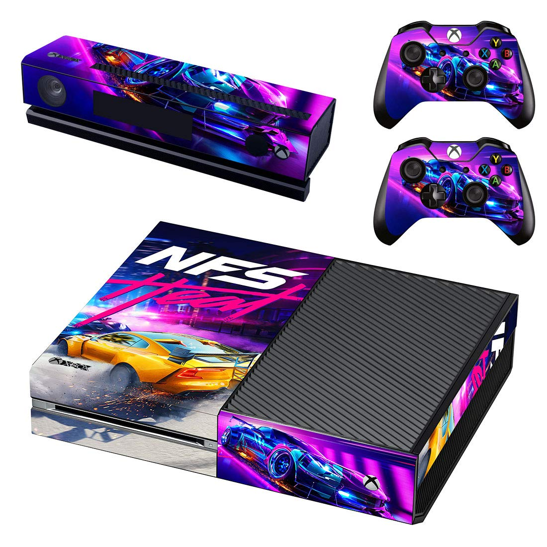 Need For Speed Heat Xbox One Vinyl Skin Sticker Decal For Console