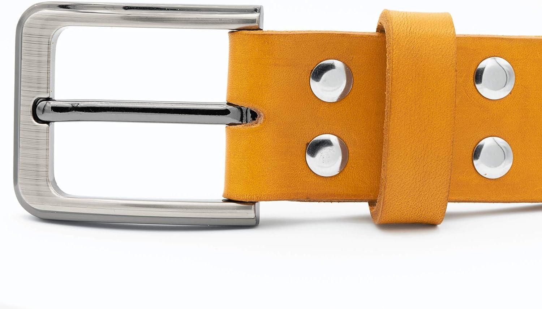 remaches de cintur/ón Hebilla de cintur/ón de 40 mm con tornillos de acero inoxidable de 5 mm My Belt hebilla y remaches para cuero hebilla para cintur/ón con juego de remaches roscados