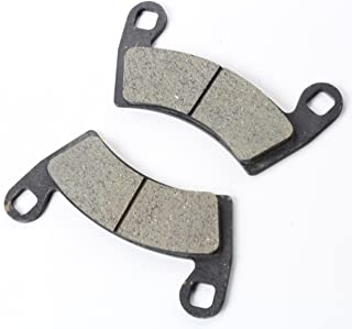NICHE Rear Left Right Brake Caliper Pad Set Pair For 2010-2019 Polaris RZR Ranger 570 800 900 XP Crew Replaces 1912374 1912375