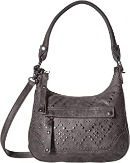 Melissa Studded Small Zip Hobo