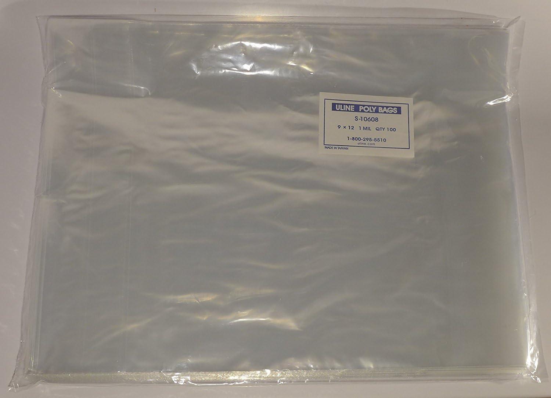 """50 T-Shirt Garment Clear Bags 12/"""" x 16/"""""""