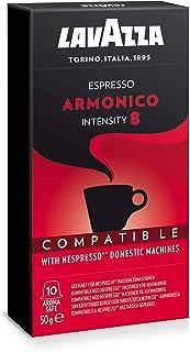 Lavazza Nespresso Espresso Armonico Coffee, 10 Capsules
