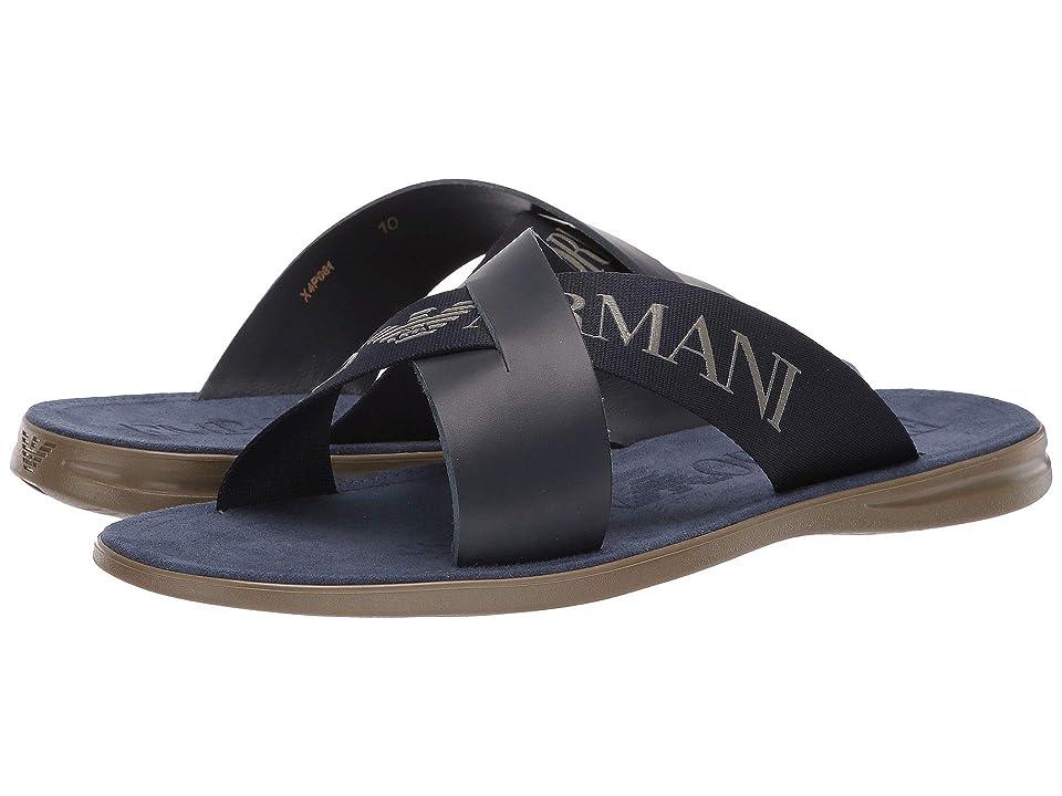 Emporio Armani Dubai Sandal (Night) Men's Sandals