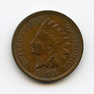 1903 Indian Head Cent XF-40