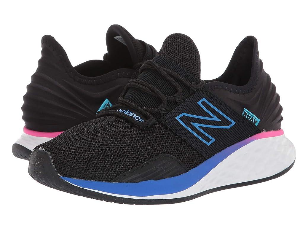 ヘルメットブレーキ三番[ニューバランス] レディースランニングシューズ?スニーカー?靴 Fresh Foam Roav Boundaries Black/Vivid Cobalt 10 (27cm) B [並行輸入品]