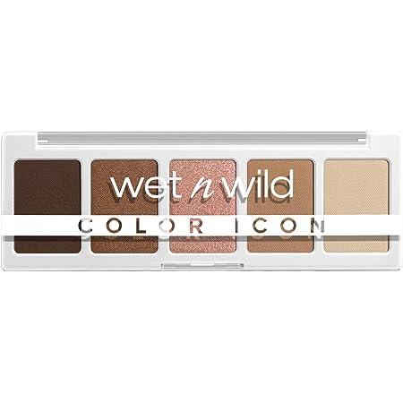 Wet n Wild, Color Icon 5Pan Makeup Palette LongWear Vegan, Walking On Eggshells, 0.21 Ounce